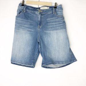 TORRID Women's Denim Shorts in Size 26